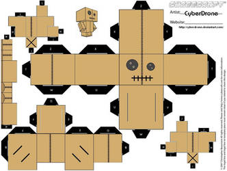 Cubee - Voodoo Doll by CyberDrone