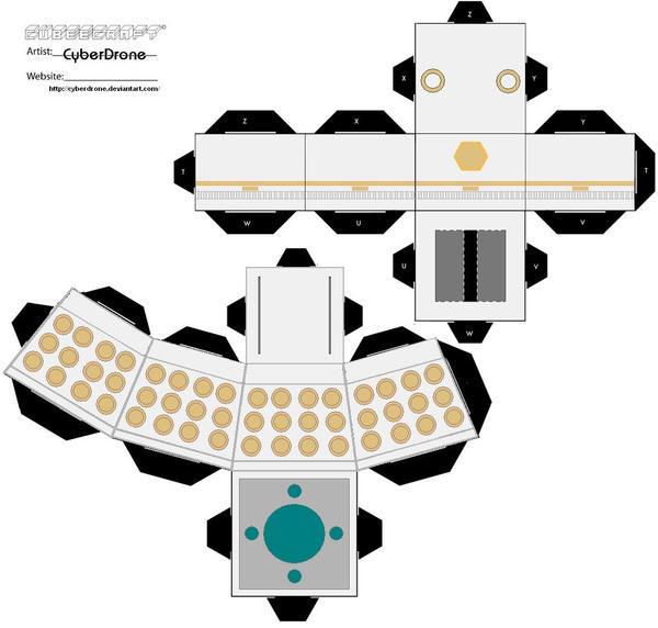 Cubee - Dalek Emperor by CyberDrone