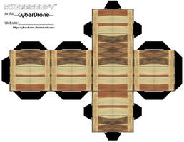 Cubee - Wooden Crate 2 by CyberDrone