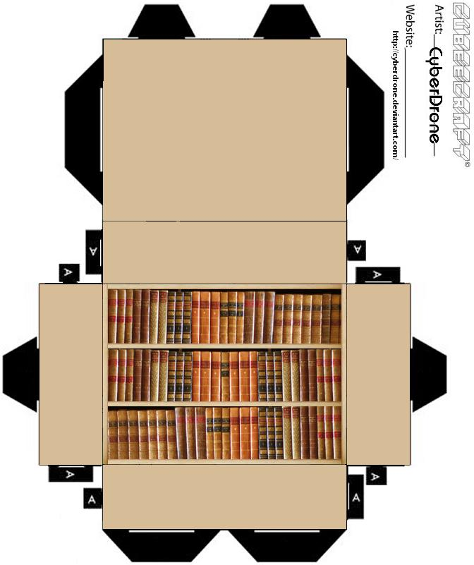 Cubee Bookcase By Cyberdrone On Deviantart