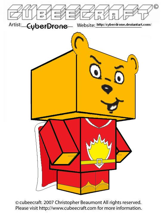 Cubeecraft - SuperTed by CyberDrone