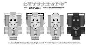 Cubeecraft - Cybermen 'Mk6'