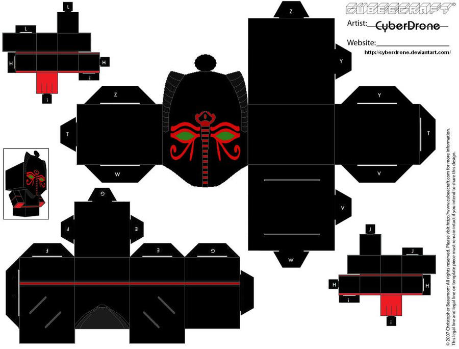 Cubee - Sutekh by CyberDrone
