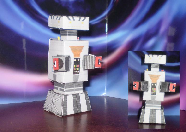 Cubee- Robot 'Lost In Space' by CyberDrone