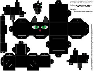 Cubee - Black Cat by CyberDrone