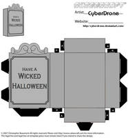 Cubee - Gravestone 2 by CyberDrone