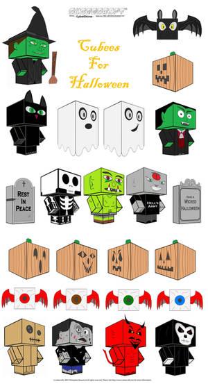 Halloween Cubees