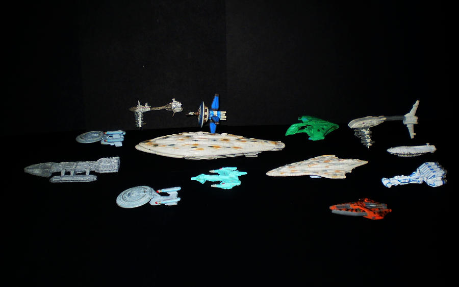 Rag Tag Fleet - pic 1 by CyberDrone