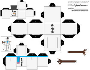 Cubee - Snowman 'Ver2'