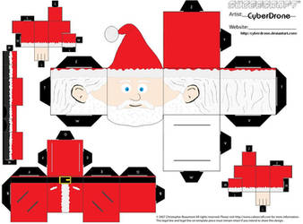 Cubee - Santa Claus by CyberDrone