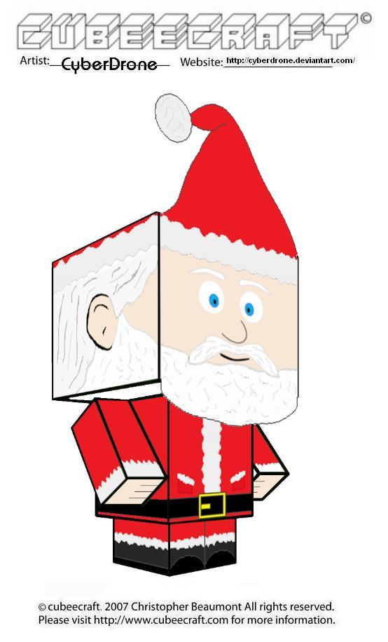 Cubeecraft - Santa Claus