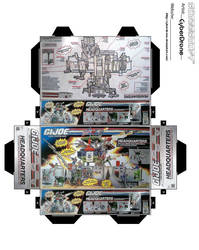 Mini GIJoe Headquarters Toybox by CyberDrone