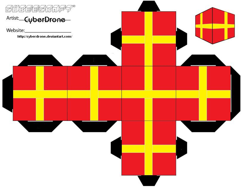 cubee xmas present ver1 by cyberdrone - Xmas Present