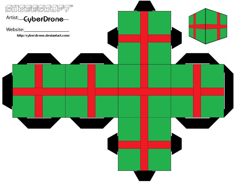 cubee xmas present ver2 by cyberdrone - Xmas Present