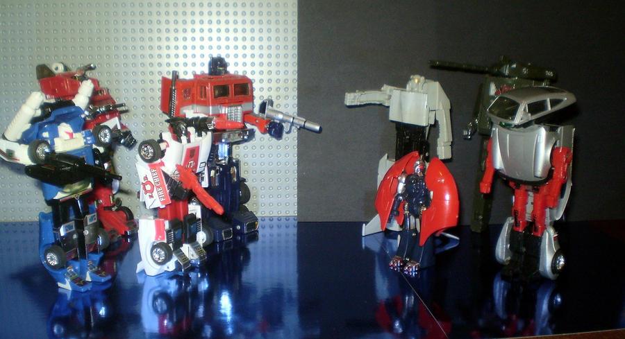 Image result for Transformers vs. Gobots