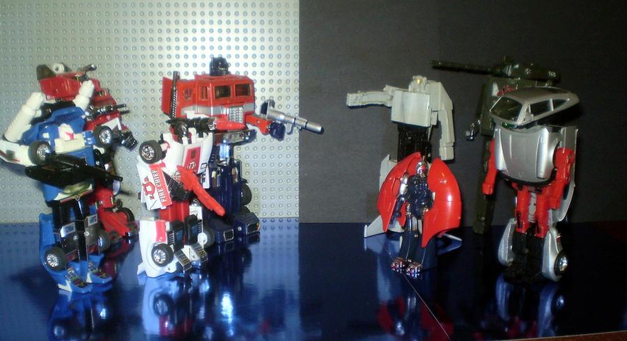 Transformers vs Go-Bots