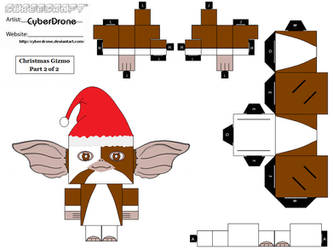 Cubee-Christmas Gizmo '2of2' by CyberDrone