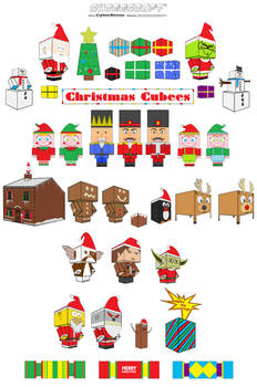 Christmas Cubees