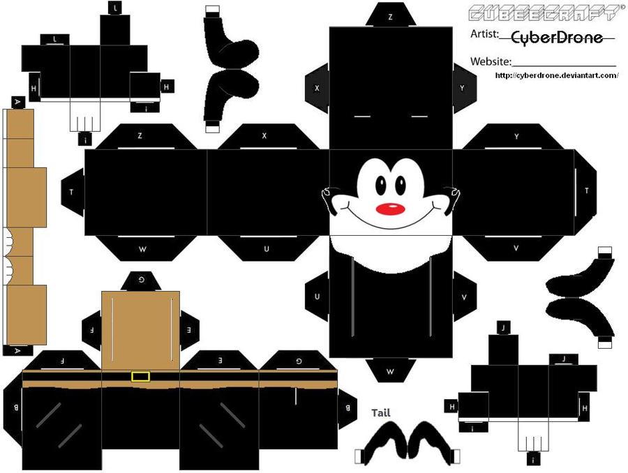 Cubee - Yakko Warner by CyberDrone