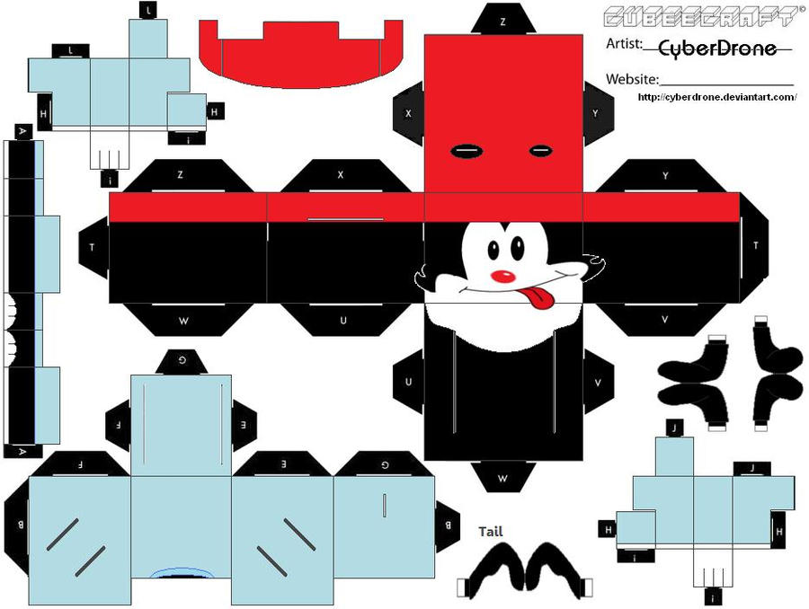 Cubee - Wakko Warner by CyberDrone