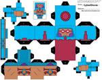 Cubee - Man-E-Faces 1