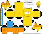 Cubee - Bart Simpson