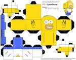 Cubee - Homer Simpson