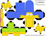 Cubee - Marge Simpson