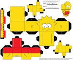Cubee - Lisa Simpson
