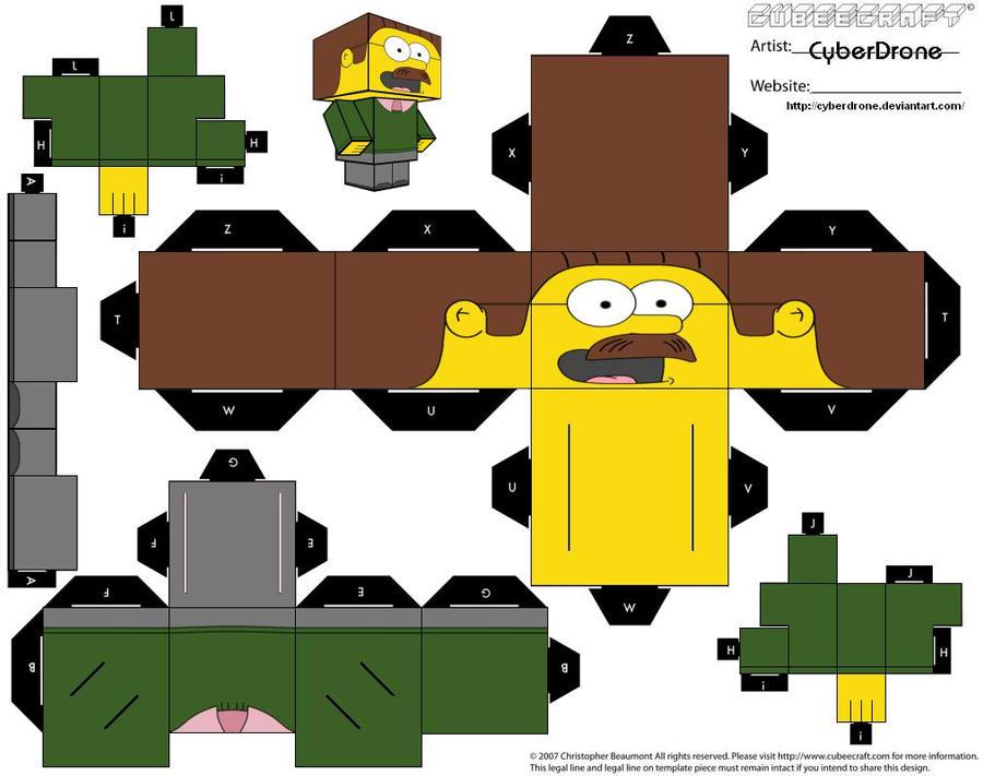 Cubee - Ned Flanders