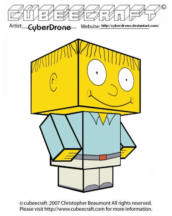 Cubeecraft - Ralph Wiggum by CyberDrone
