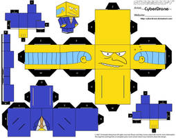 Cubee - Mr. Burns by CyberDrone