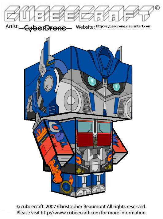 Cubeecraft - Prime 'Movie' by CyberDrone