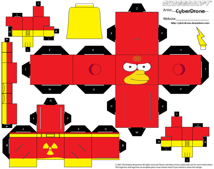 Cubee - Radioactive Man by CyberDrone