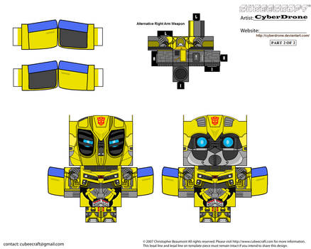 Cubee - Bumblebee 'Movie' by CyberDrone