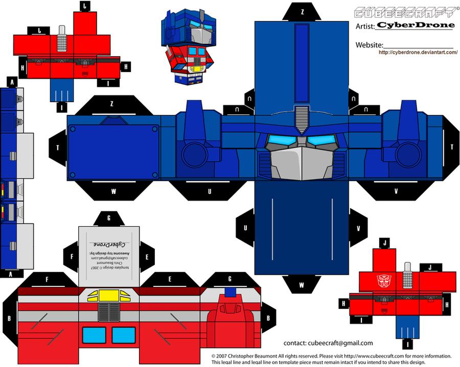 Cubee - Prime 'Gen 1' by CyberDrone