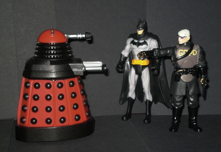 A Dalek in Gotham by CyberDrone