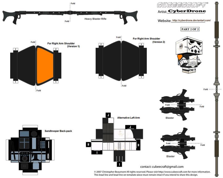 Cubee - Sandtrooper '2of2'