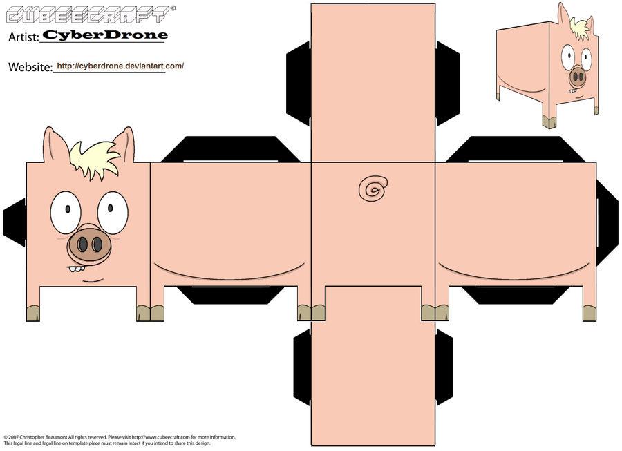 Cubee - Spider-Pig