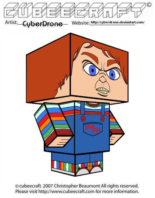 Cubeecraft - Chucky by CyberDrone