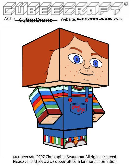 Cubeecraft - Good Guys Doll by CyberDrone