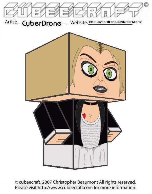 Cubeecraft - Tiffany by CyberDrone