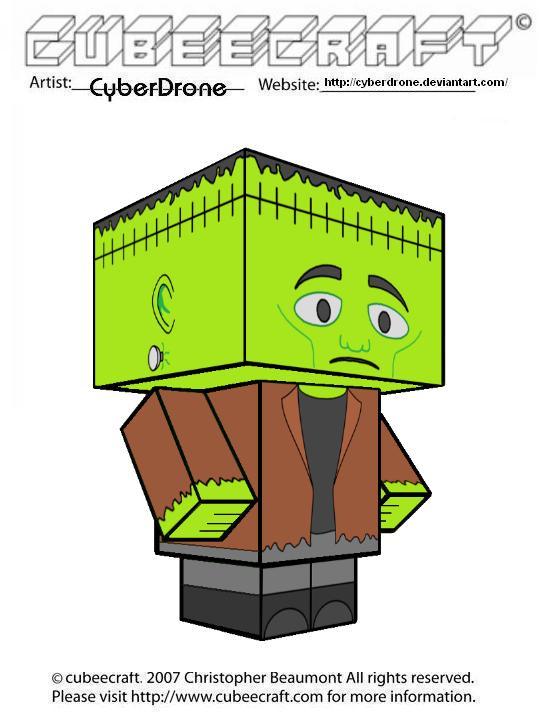 Cubeecraft - Frankenstein by CyberDrone