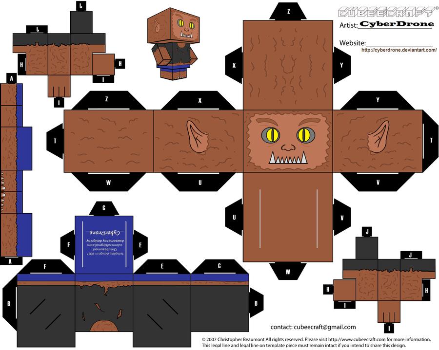 Cubee - Werewolf by CyberDrone