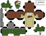 Cubee - Zombie Flanders