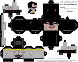 Cubee - Zombie Batman '1of2' by CyberDrone