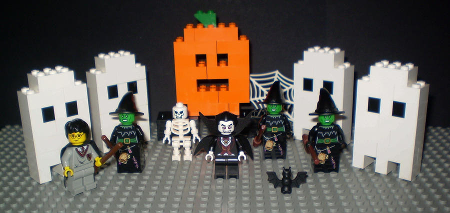 A Lego Halloween by CyberDrone on DeviantArt