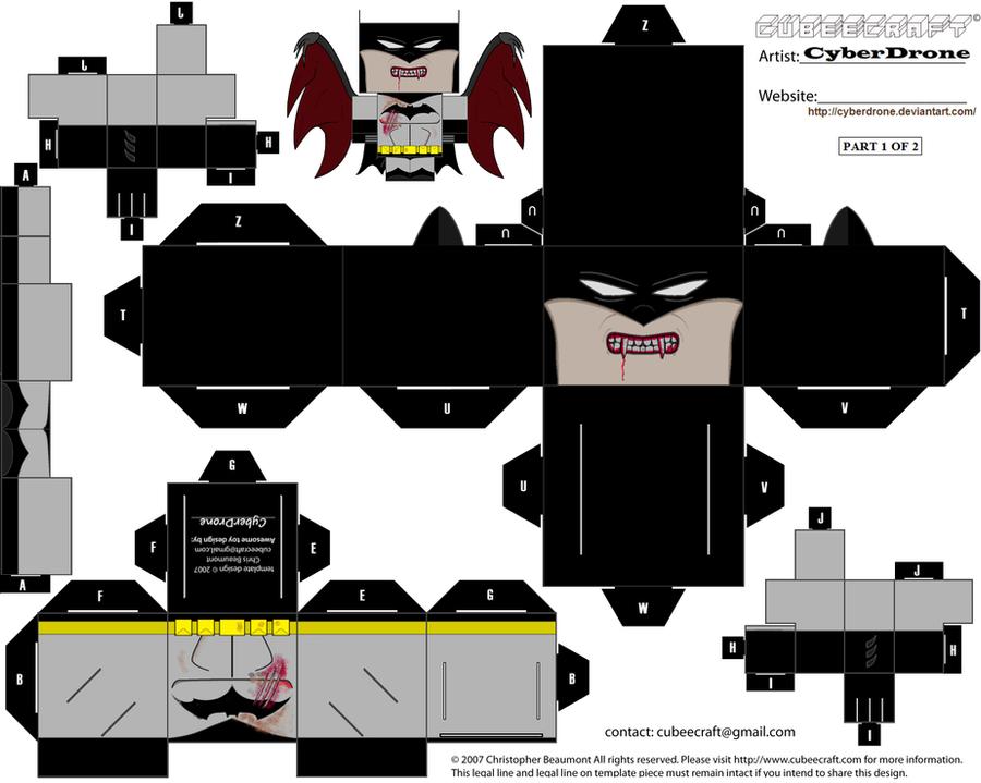 Cubee - Vampire Batman '1of2' by CyberDrone