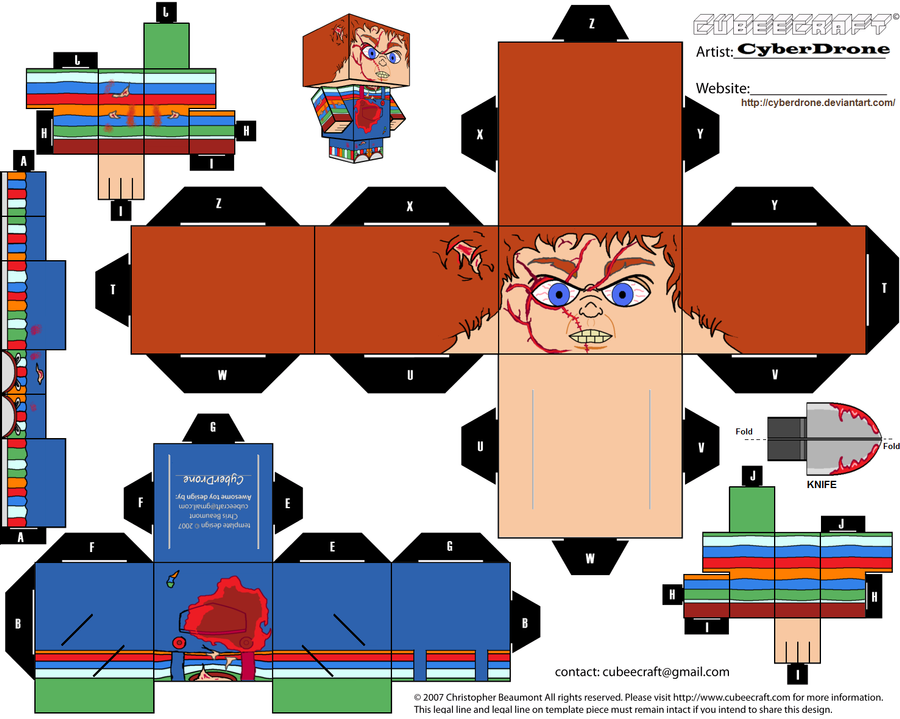 Cubee - Chucky 'Ver2' by CyberDrone