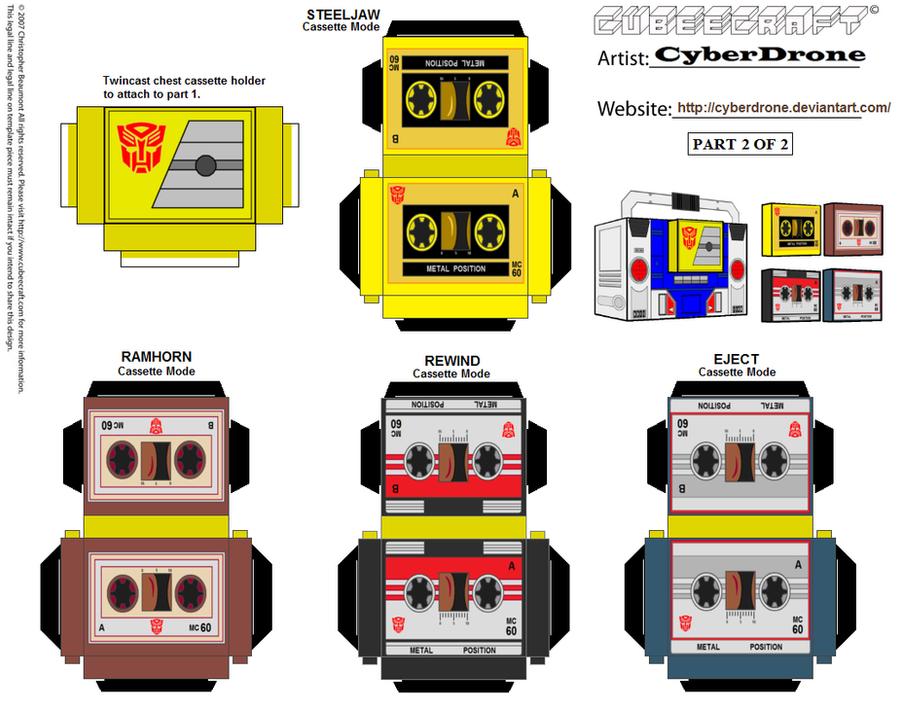 Cubee - Twincast '2of2' by CyberDrone